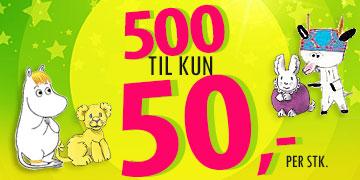 sale retailer 59b2d bf6fb Tidenes maisalg! 500 barnebøker til kun 50,- per stk. Kun i Barnas