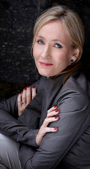 J.K. Rowling, forfatteren av Harry Potter-bøkene. © Foto: Debra Hurford Brown