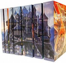 Harry Potter 1-7 (Pakke)