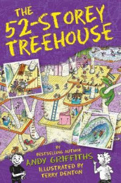 The 52-storey treehouse av Andy Griffiths (Heftet)