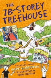 The 78-storey treehouse av Andy Griffiths (Heftet)