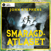 Smaragdatlaset av John Stephens (Lydbok MP3-CD)