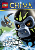 Omslag - LEGO® LEGENDS OF CHIMA™ - Gorillaer mot ravner