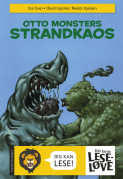 Omslag - Otto Monsters strandkaos