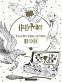 Omslag - Harry Potter Fargeleggingsbok