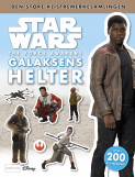 Omslag - Star Wars - The Force Awakens klistremerkebok - Galaksens helter