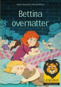 Omslag - Bettina overnatter