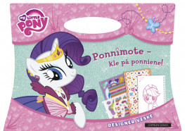 Omslag - MY LITTLE PONY: Ponnimote - kle på ponniene!