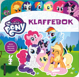 Omslag - MY LITTLE PONY klaffebok