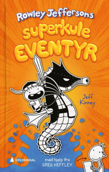 Rowley Jeffersons superkule eventyr av Jeff Kinney (Innbundet)