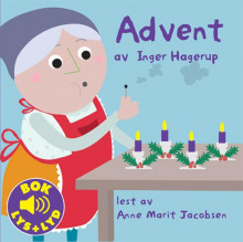 Advent av Inger Hagerup (Kartonert)